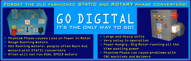 Forget the old Static and Rorary drives direct digital phase converters how to choose Temco Static Phase Converter at n-0.co
